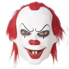 Masque de clown tueur sérial killer pour Halloween en latex