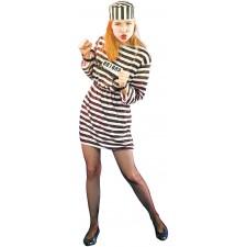 Costume de prisonnière pour femme
