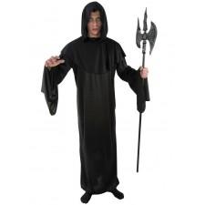 Costume messager de la nuit adulte pour la fête d'Halloween