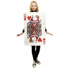 Costume de carte dame de cœur original pour femme