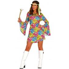 Costume robe hippie pour femme