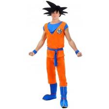 Costume officiel de Goku Saiyan pour adulte Dragon Ball Z