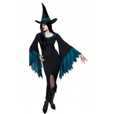 Costume de sorcière femme pour la fête d'Halloween