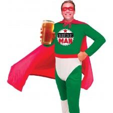 Costume humoristique de bière man pour adulte
