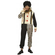 Costume arlequin homme sanglant pour Halloween