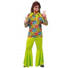 Costume années 60 de hippie pour homme