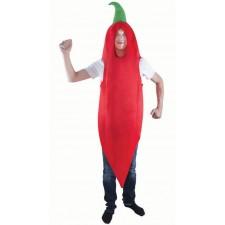 Costume de piment rouge pour adulte