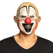 Masque de clown tueur d'Halloween intégral effrayant