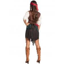 Déguisement femme de pirate très complet