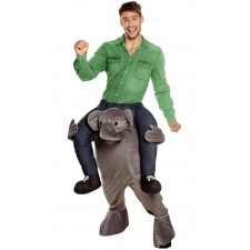 Costume adulte porte-moi éléphant original