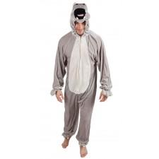 Costume animal hippopotame adulte
