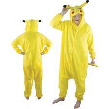 Costume adulte de petit monstre jaune