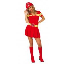 Costume de pompier pour femme