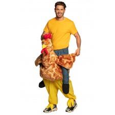 Costume porte-moi poulet style carry-me