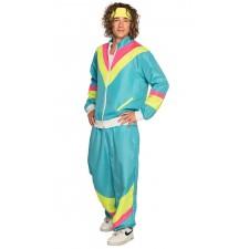 Costume homme survêtement pour soirée sur les années 80
