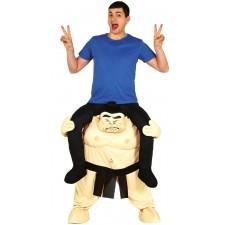 Costume carry-me de sumo pour adulte