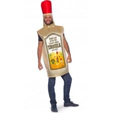 Costume adulte en forme de bouteille de tequila