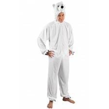 Costume ours polaire pour adulte