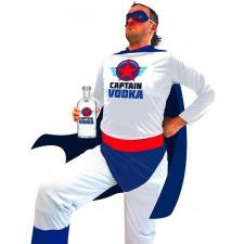 Costume de super-héros captain vodka adulte
