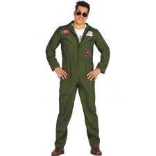 costume de pilote de chasse style Top Gun pour homme