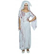 Costume de mariée d'Halloween zombie femme