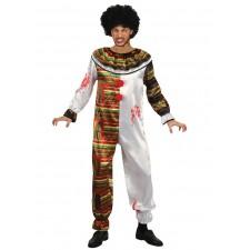 Costume de clown tueur effrayant idéal pour une soirée sur le thème de l'horreur ou d'Halloween