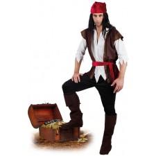 Costume de pirate pour homme très complet