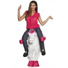 Costume porte-moi licorne pour adulte