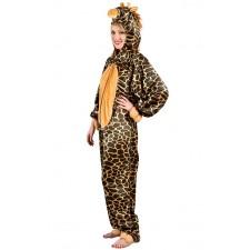 Costume de girafe adulte thème des animaux