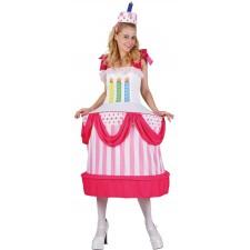 Costume de gâteau d'anniversaire pour femme original
