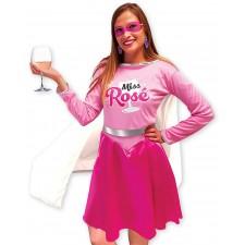 Costume femme de la miss rosé thème alcool