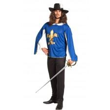Costume de mousquetaire d'artagnan, athos, aramis, porthos pour homme