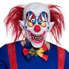 Masque latex intégral de clown Halloween adulte