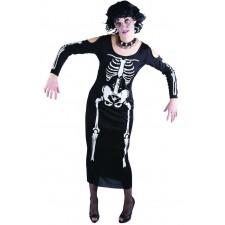 Costume de squelette pas cher pour femme