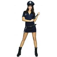 Costume de policière pour femme