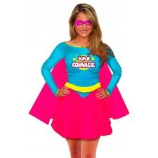 Costume femme humoristique de la super connasse