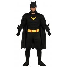 Costume de super-héros chauve-souris style batman pour homme