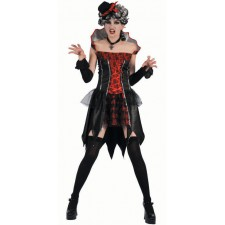 Costume de vampire d'Halloween pour femme