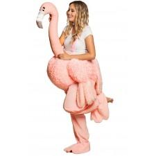 Costume porte-moi de flamant rose femme
