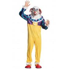 Costume adulte de clown tueur pour Halloween