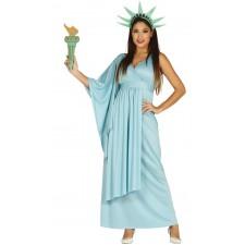 Costume femme pas cher de Statue de la Liberté