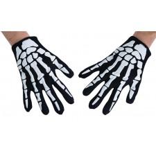 Accessoire gants de squelette