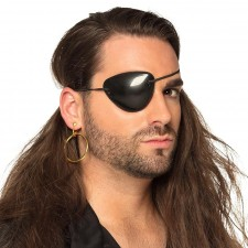 Kits d'accessoires de pirate composé d'une boucle d'oreille et d'un cache-œil