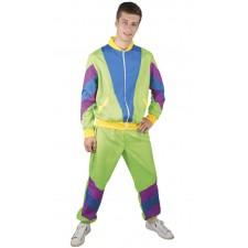 Costume pour homme sur les années 80 composé d'un survêtement
