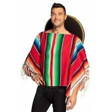 Costume poncho sur le thème du Mexique