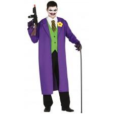 Costume du Joker le bouffon tueur pour homme Halloween