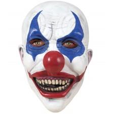Masque de clown tueur en latex intégral pour Halloween