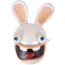 Masque des Lapins Crétins en PVC sous licence officielle