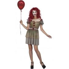 Costume de clown style ça femme pour la fête d'Halloween
