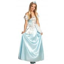 Costume de princesse bleue pour femme